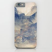 iPhone & iPod Case featuring Tulle Mountains by Klara Acel