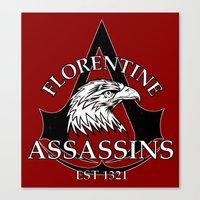 Florentine Assassins Canvas Print