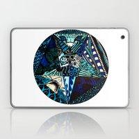 Blue Toned Pentagram Laptop & iPad Skin
