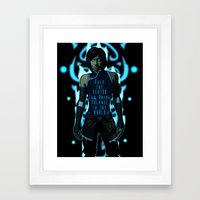 Only the Avatar Framed Art Print