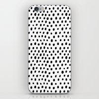 Polka Dot Rain iPhone & iPod Skin