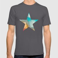 Land Sphere Mens Fitted Tee Asphalt SMALL