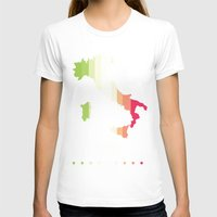italy T-shirts featuring Italy by Stormer