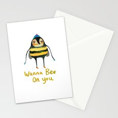 Wana Bee On You! Stationery Cards