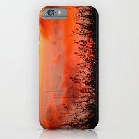 Rainbow Sundown iPhone 6 Slim Case