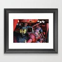 Fuel Sediment Bowl Framed Art Print