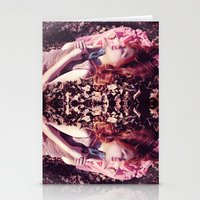Ginger sleeping beauty  Stationery Cards