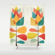 Shower Curtain featuring Spring Time Memory by Budi Kwan