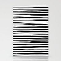 Zebra stripes Stationery Cards