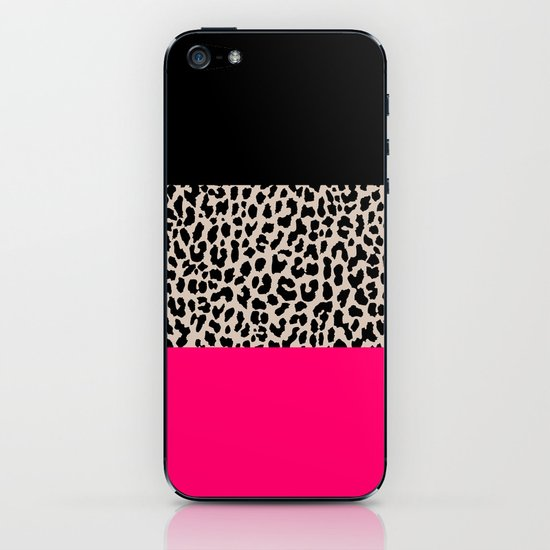 Leopard National Flag IV iPhone & iPod Skin