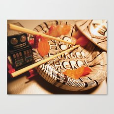 Maki tajine Canvas Print