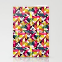 Aztec Geometric VII Stationery Cards