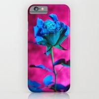 iPhone & iPod Case featuring La rose evasive de bleu  - the elusive blue rose by Bruce Stanfield
