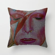Space Invading Oddity 2016 edit Throw Pillow