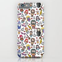 harry potter iPhone & iPod Cases featuring Wizards by Hello Quirky