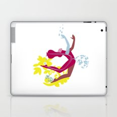 Woman blob Laptop & iPad Skin