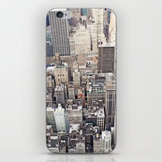 New York City color iPhone & iPod Skin
