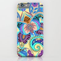 Boho Floral Fantasy Pattern iPhone 6 Slim Case
