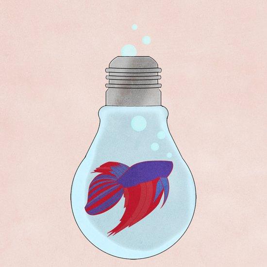 Fish Bulb Art Print