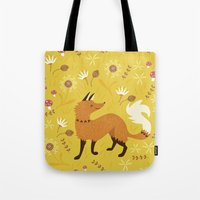 Cute as a Fox Tote Bag