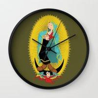 Virgin Olive Oyl Wall Clock