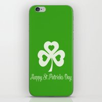Happy St Patricks Day iPhone & iPod Skin