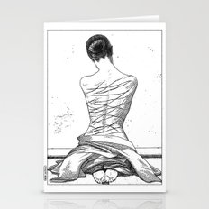 asc 597 - Les amatrices III (Sketchwork) Stationery Cards