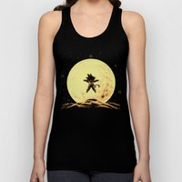 Full Moon Unisex Tank Top