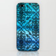 Black Filigree Pattern O… iPhone & iPod Skin