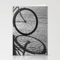 bicycle Stationery Cards featuring bicycle by habish