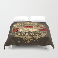 THE MIGHTY TO-THOR-O Duvet Cover