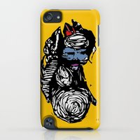 iPod Touch Cases featuring His Divine Circus by Alex Ruddell