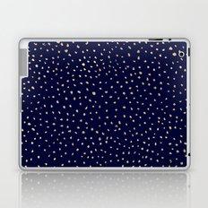 Dotted Gold & Midnight Laptop & iPad Skin