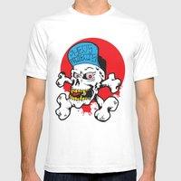 Pheo Projects Mens Fitted Tee White SMALL