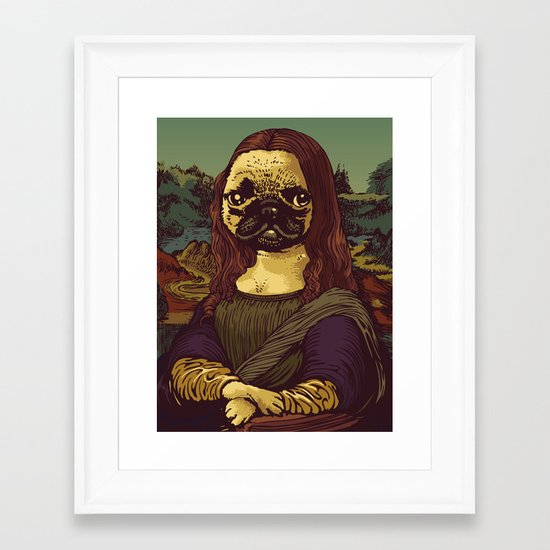 Pugalisa Framed Art Print