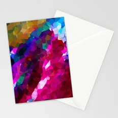 abstract colours II Stationery Cards