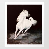I Dreamed Him White (pai… Art Print