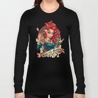Fate Loves The Fearless Long Sleeve T-shirt