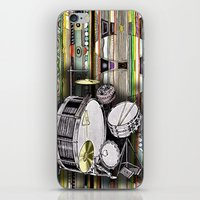 Drum Kit iPhone & iPod Skin