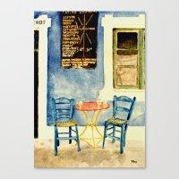 Greek Memories No. 2 Canvas Print