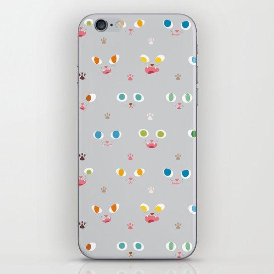 Cat Faces iPhone & iPod Skin