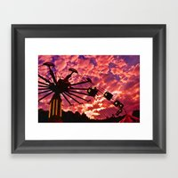 Summer Swing Framed Art Print