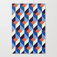 Geolectric Canvas Print