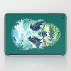 Nature's Skull (Green) iPad Case