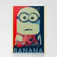 Minion banana Stationery Cards