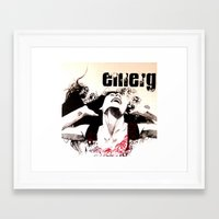 Emerge Framed Art Print