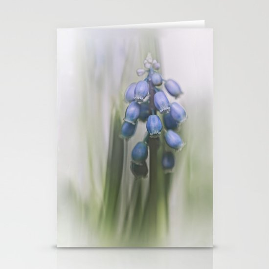 Grape Hyacinth VII Stationery Card
