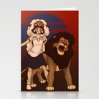Great Kings of the Past Stationery Cards