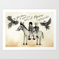 And You Will Return With… Art Print