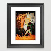 Sinmara Framed Art Print